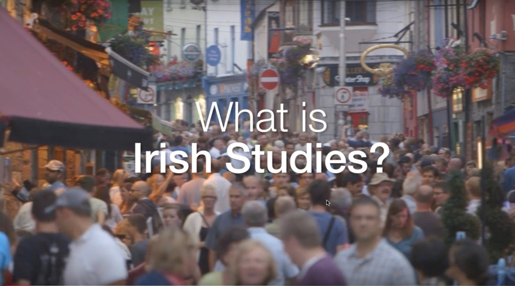 What is Irish Studies?