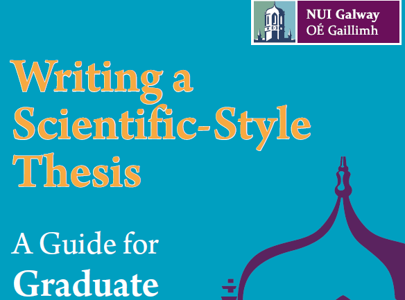 Writing a Scientific-Style Thesis Guide