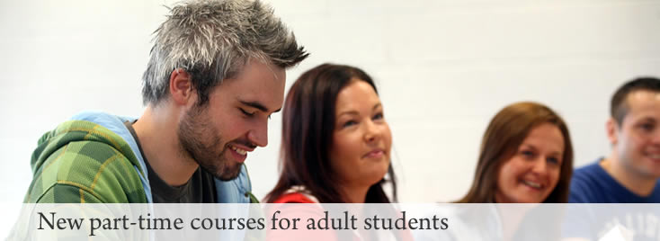 Image showing adult students in NUI Galway