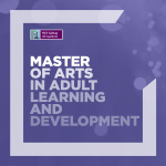 Master of Arts in Adult Learning and Development