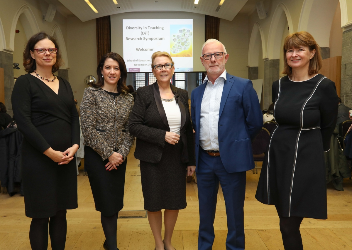 School of Education, NUI Galway Hosted Diversity in Teaching Research Symposium-image