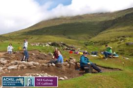 Achill Archaeological Field School excavation