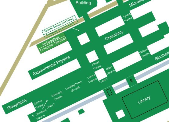 Archaeology - NUI Galway campus map