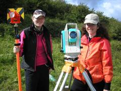 Research Current, Lisanroo, Total Station