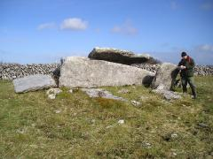 MA in Landscape Archaeology Burren Wedge Tomb