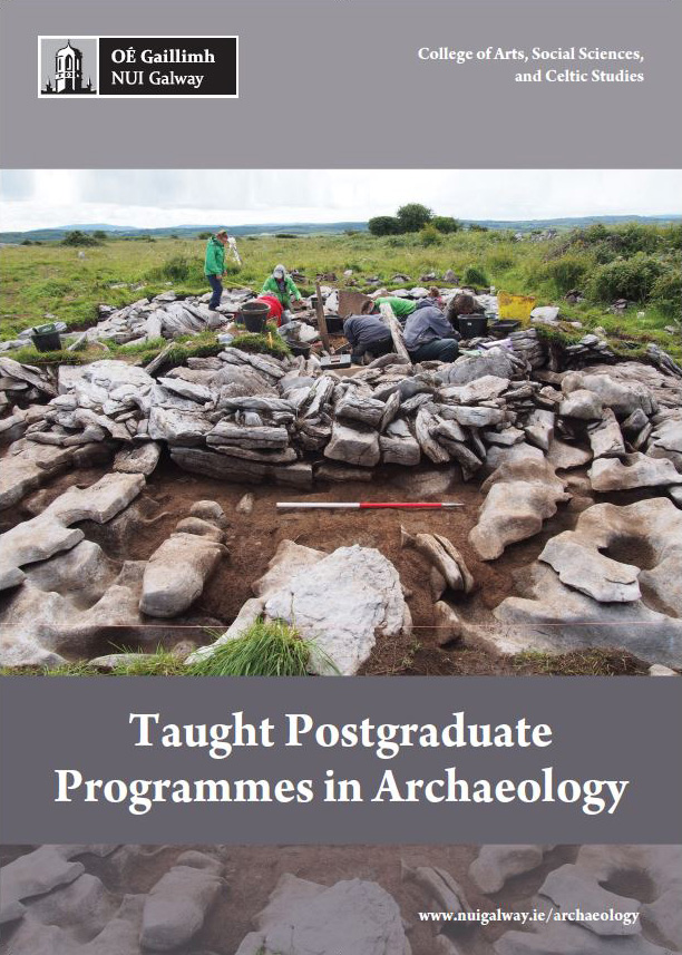 Taught Postgraduate Programmes in Archaeology 2017 2018