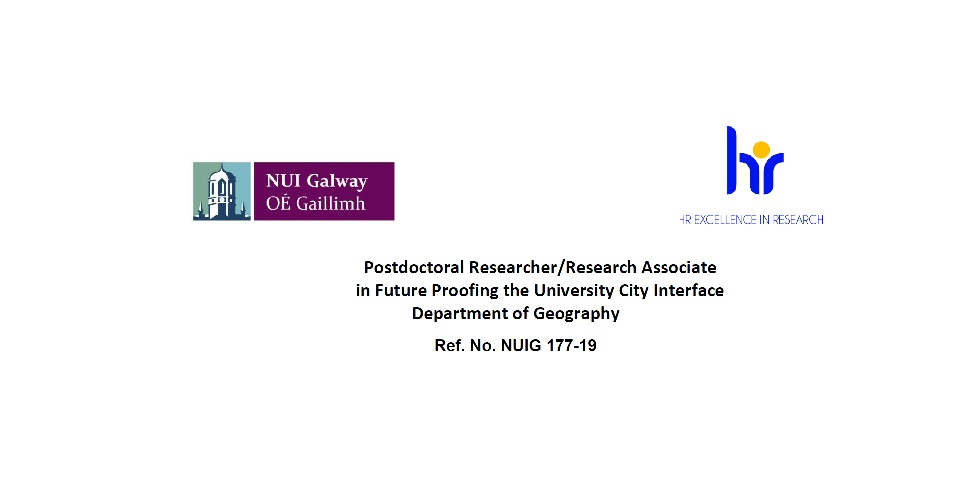 Job Advertisement: Postdoctoral Researcher/Research Associate-image