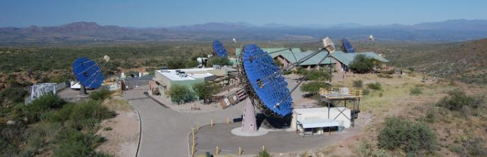 VERITAS Research Project at the Whipple Observatory, Arizona