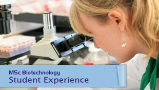 Biotechnology Student Experience