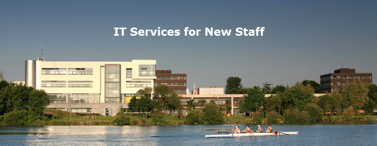IT Services for New Staff