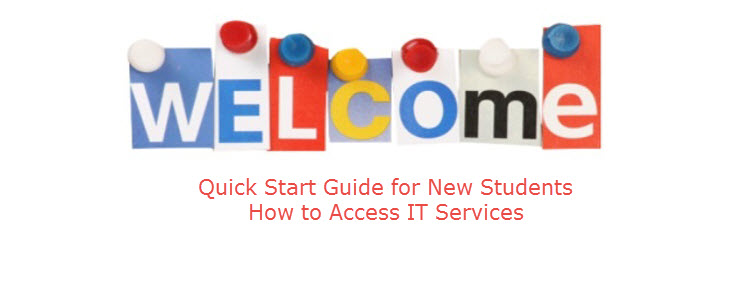 Quick Start Guide on How to Access IT Services