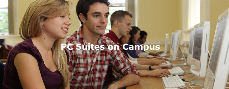 PC Suites on campus