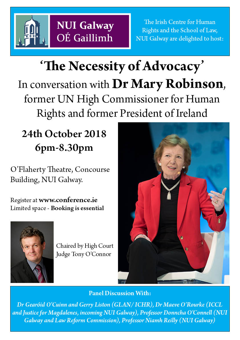 Mary Robinson event