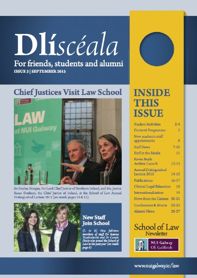 School of Law Newsletter 2015