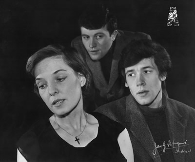 1965 Peggy Hayes, Donal McCann & Stephen Rea in Church Street