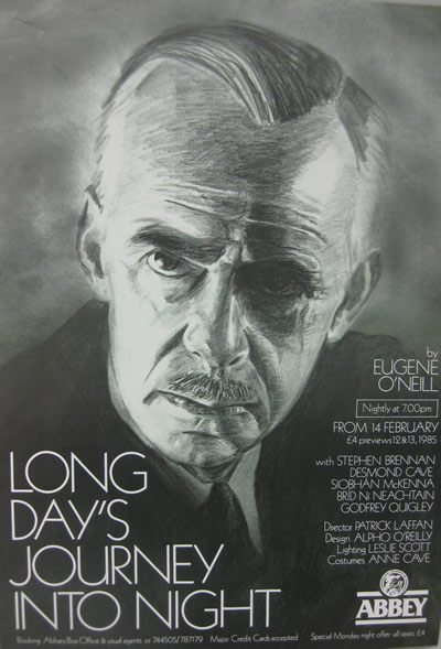 1985 Long Day's Journey into Night, Eugene O'Neill Poster