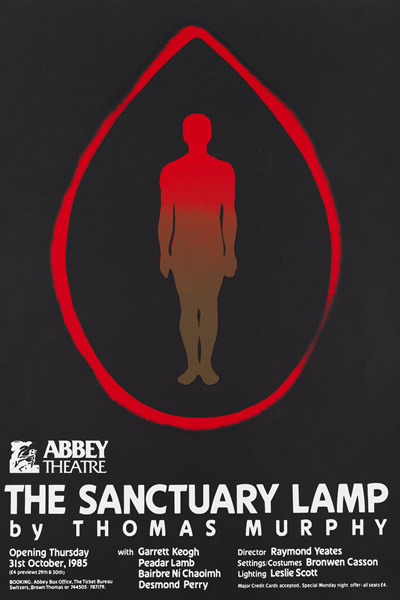 1985 The Sanctuary Lamp Poster