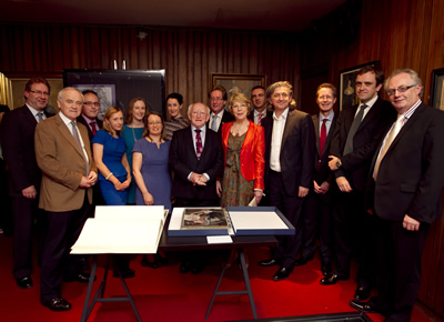 Abbey/NUI Galway Digital Archive Partnership Launch