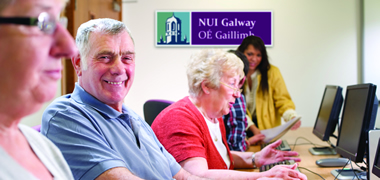 NUI Galway opens the door of opportunity for basic computer training-image