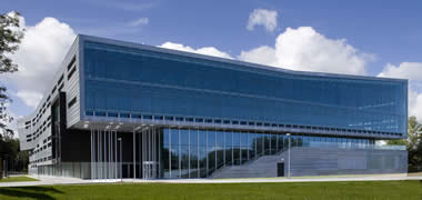 Pictured is the NUI Galway Engineering Building