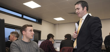 Minister English Highlights Success of Action Plan for Jobs during Visit to NUI Galway -image
