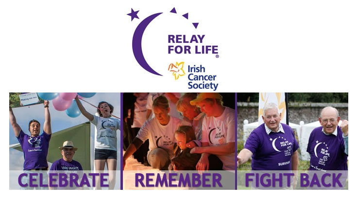 Relay for Life in aid of Irish Cancer Society -image