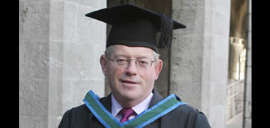 President Browne Pays Tribute to John Cunningham-image
