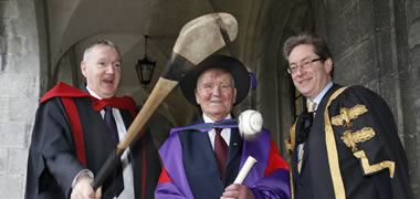 Mick Loftus to Receive Honorary Doctorate at NUI Galway-image