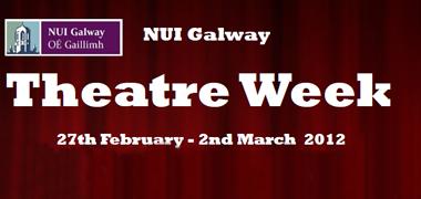 NUI Galway Celebrates the Dramatic Arts with Third Annual Theatre Week-image