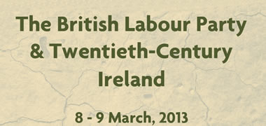 NUI Galway Host British Labour Party and 20th Century Ireland Conference-image