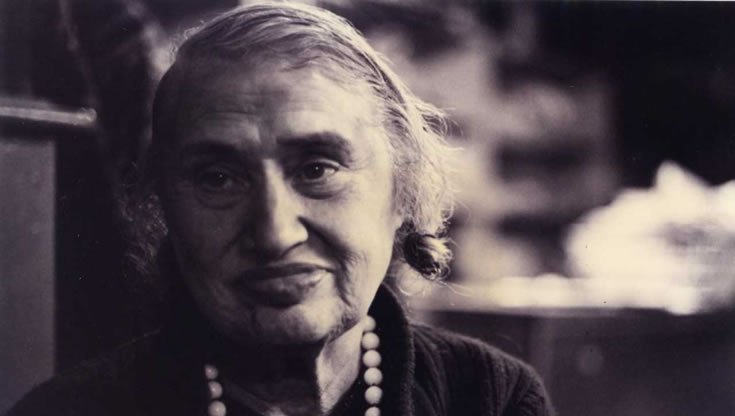 Photograph taken of Una Taaffe in 1989. Photo: Michael Daly