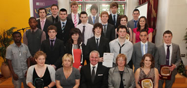 NUI Galway Announce Winners of 2012 Sports Awards-image