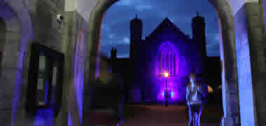 NUI Galway Lights up Blue for World Autism Awareness Day-image