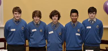 St Joseph's Secondary CBS, Fairview from Dublin were announced winners of the 2014 All-Ireland Final of the Debating Science Issues competition.