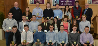 NUI Galway GAA Inaugural Player of the Year Awards-image