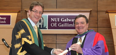 NUI Galway Statement on the Passing of the Honourable James M. Flaherty-image