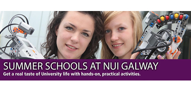NUI Galway Summer Schools for Second Level Students-image