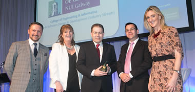 NUI Galway Wins Information Technology Postgraduate Course of the Year-image