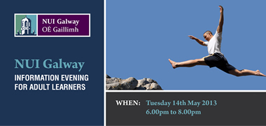 NUI Galway's Adult and Continuing Education Information Evening-image