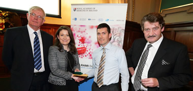 NUI Galway Pain Researchers Win Prize for Best Research Paper -image