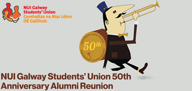 NUI Galway Students' Union 50th Anniversary Reunion-image