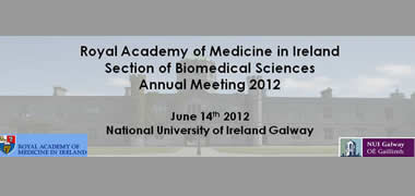 Royal Academy of Medicine in Ireland Annual Meeting at NUI Galway -image