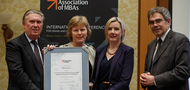 NUI Galway Only Regional MBA to Attain International Accreditation in Ireland -image