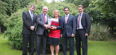 NUI Galway MBA wins Prestigious National Competition -image