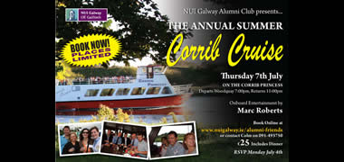NUI Galway Alumni Club Hosts Corrib Princess Cruise   -image