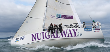 NUI Galway Crew First in their Class in 2012 Round Ireland Yacht Race-image