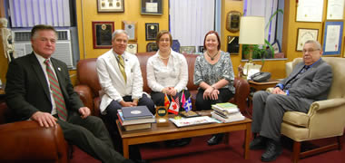 NUI Galway Sign MOU with New York College of Podiatric Medicine-image