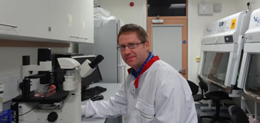 Shane Browne, a final year PhD student at the Network of Excellence for Functional Biomaterials (NFB) at NUI Galway, has been awarded an Irish Research Council International Career Development Fellowship under the ELEVATE scheme. The award will cover his postdoctoral research at the University of California, Berkeley, USA to collaborate with Professor Kevin Healy for two years. Photo by NUI Galway, NO REPRO FEE.