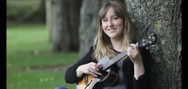 Jenny Groarke, a musician and PhD student at the School of Psychology in NUI Galway