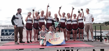 NUI Galway Rowing Club/Gráinne Mhaol Dominate at National Rowing Championships -image